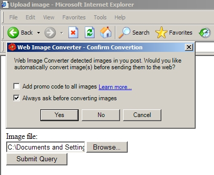 Web Image Converter